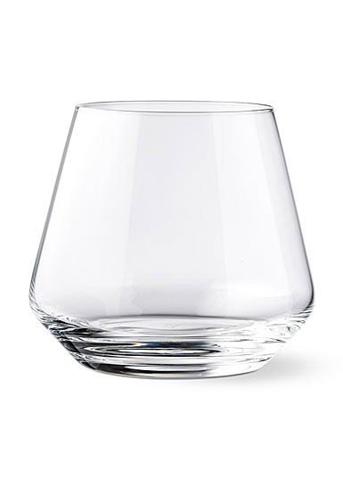 Schott Zwiesel Tritan Crystal, Pure Stemless Wine Tumbler Burgundy, Pinot Noir, Single