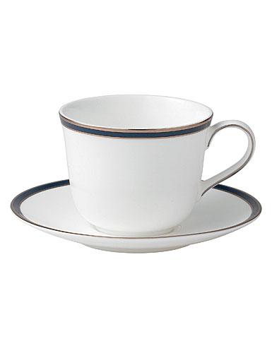 Royal Doulton Signature Blue Teacup & Saucer Set