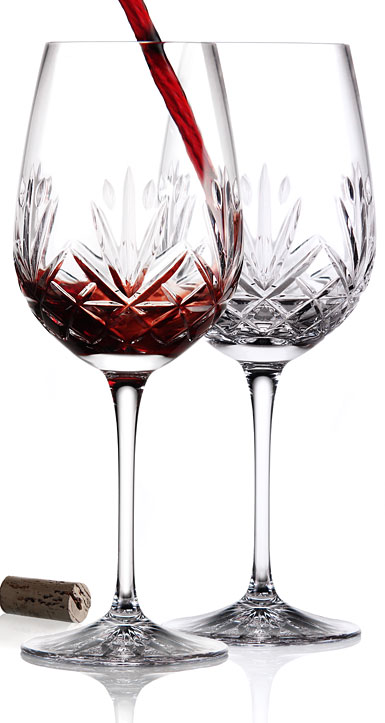 Cashs Crystal Annestown Cabernet Bordeaux, Pair