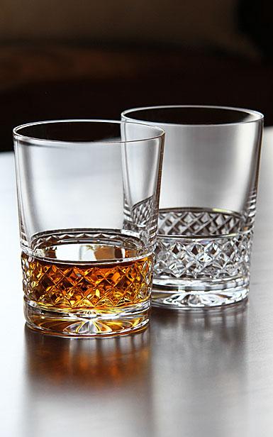 Cashs Ireland, Cooper Single Malt Crystal Whiskey Glasses, Pair