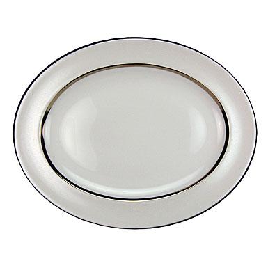 Royal Doulton Platinum Silk Medium Oval Platter