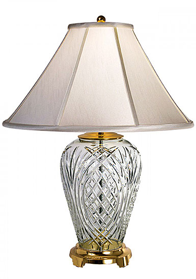 "Waterford Crystal, Kilkenny 29"" Crystal Lamp"