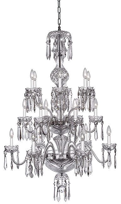 Waterford Chandelier Collection - Cranmore 18 Arm