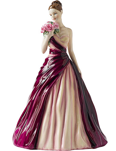 royal doulton pretty ladies occasions  with love
