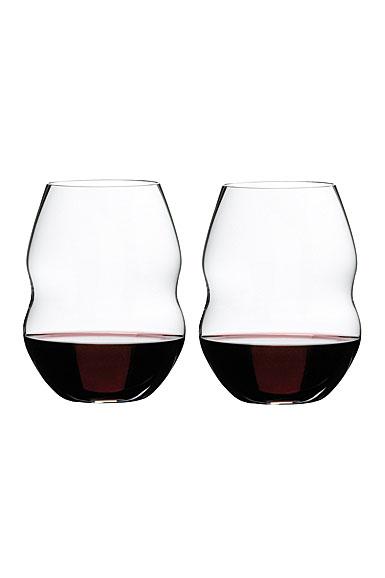 Riedel Swirl, Red Wine Wine Glasses, Pair