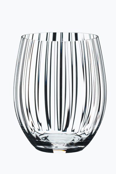 Riedel Optical O Longdrink Crystal Tumblers, Pair