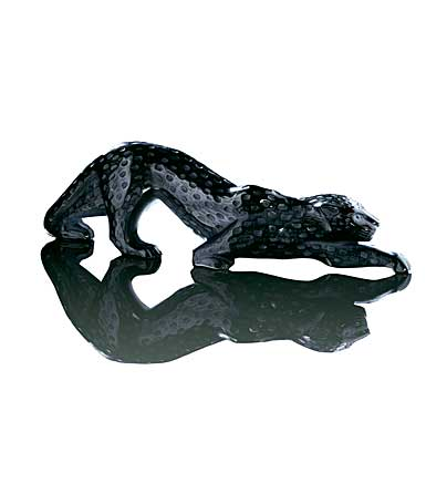 Lalique Crystal, Zeila Black Panther, Limited Edition of 49