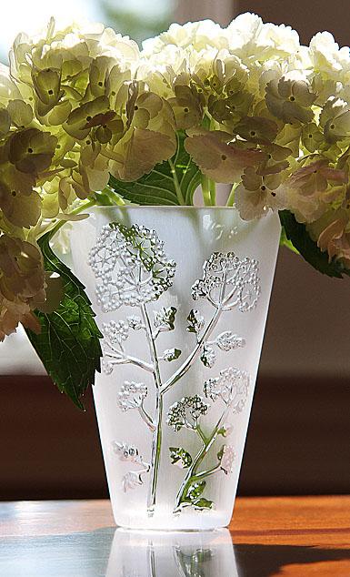 Lalique Ombelles 6 Vase
