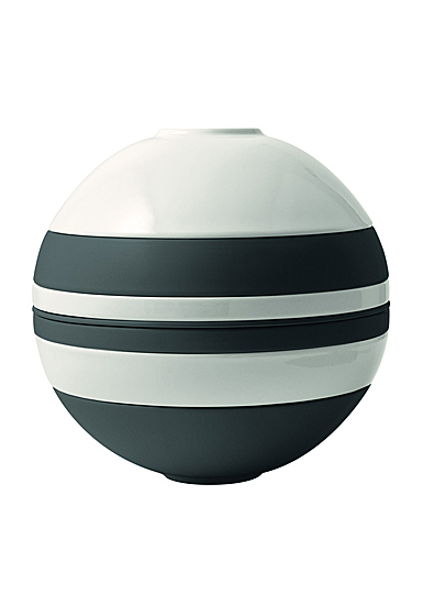 Villeroy and Boch Iconic La Boule Black and White Dinner Set