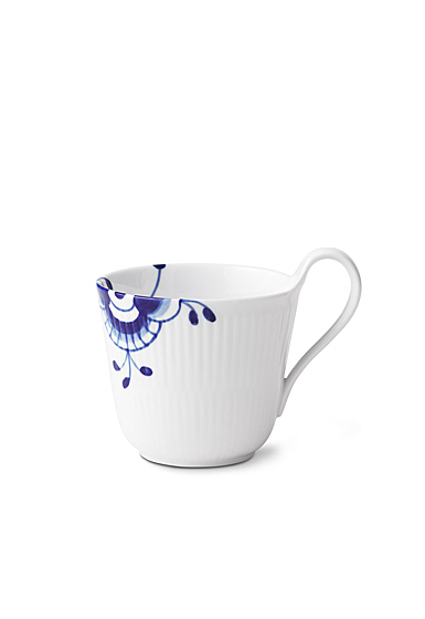 Royal Copenhagen, Blue Fluted Mega High Handle Mug 11oz.