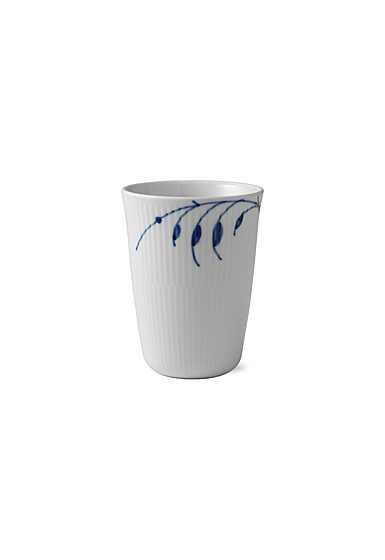 Royal Copenhagen, Blue Fluted Mega Thermal Latte Mug Latte