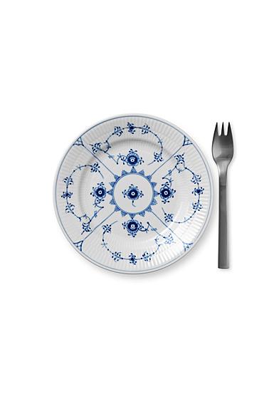 "Royal Copenhagen, Blue Fluted Plain Bread and Butter Plate 6.75"""