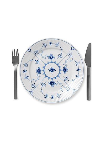 "Royal Copenhagen, Blue Fluted Plain Salad Plate 8.75"""