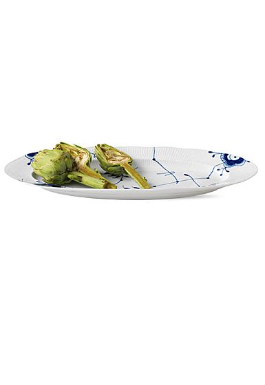 """Royal Copenhagen, Blue Fluted Mega Fish Platter 24"""""""