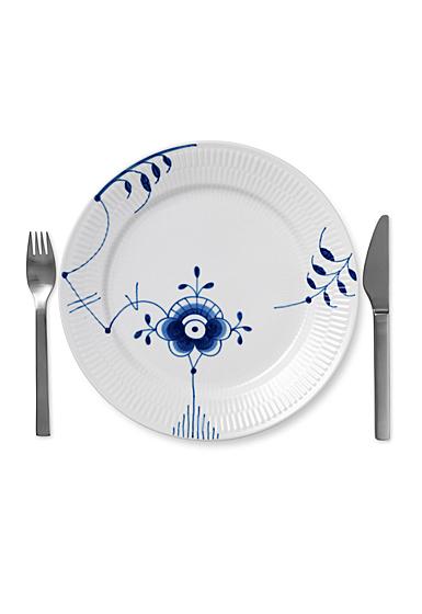 """Royal Copenhagen, Blue Fluted Mega Dinner Plate #6 10.75"""""""