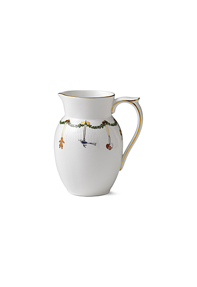 Royal Copenhagen, Star Fluted Christmas Jug 1.5 Pint