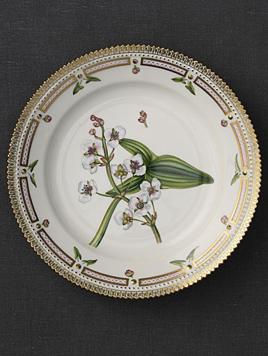 "Royal Copenhagen, Flora Danica Salad Plate 8.75"", Limited Edition"