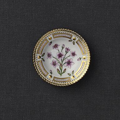 "Royal Copenhagen, Flora Danica Butter Pat 3"", Limited Edition"