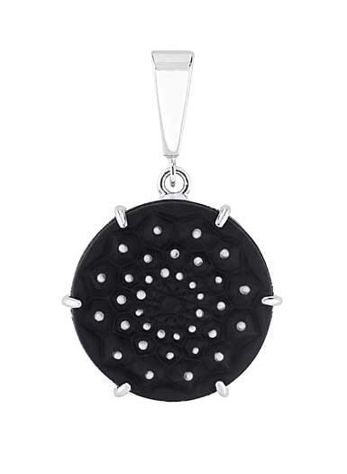 Lalique Cactus De Lalique Pendant, Black