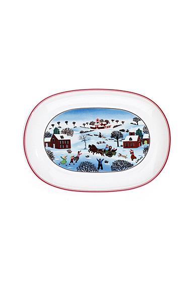 Villeroy and Boch Naif Christmas Pickle Dish