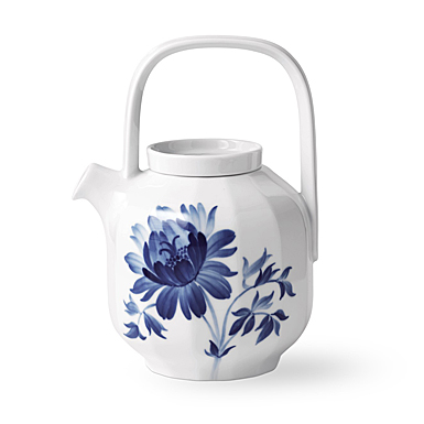 Royal Copenhagen, Blomst Teapot Tree Peony 1 Qt