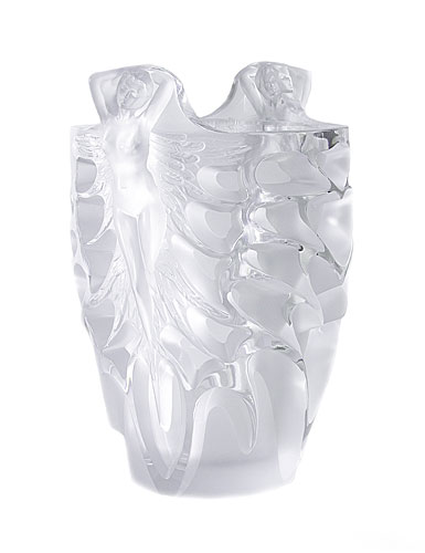 Lalique Metamorphose Vase, Limited Edition