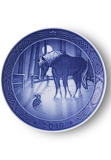 Royal Copenhagen 2019 Christmas Plate