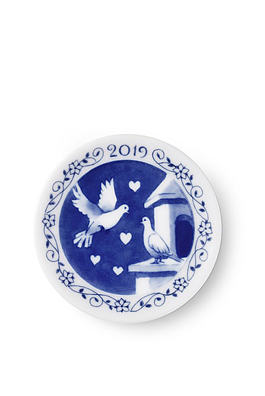 Royal Copenhagen 2019 Plaquette 3.25""
