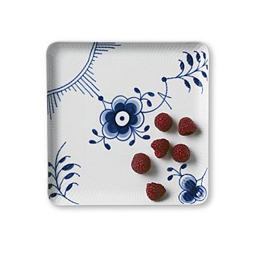 Royal Copenhagen, Blue Fluted Mega Large Square Plate