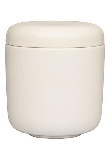 Iittala Essence Jar 8.75 Oz With Lid White