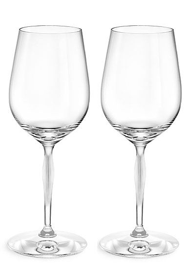 Lalique 100 Points Tasting Crystal Glasses By James Suckling, Pair