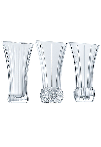 Nachtmann Spring Table Vases, Set of 3