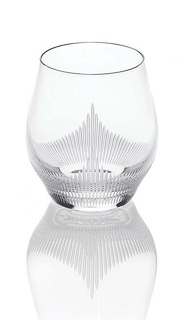 Lalique 100 Points Whiskey DOF Tumbler Glass By James Suckling, Single