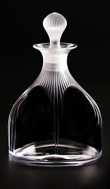 Lalique Crystal, 100 Points Crystal Decanter With Stopper By James Suckling