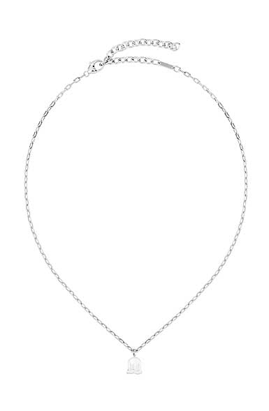 Lalique Muguet De Pendant Necklace, Silver