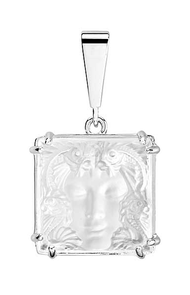 Lalique Crystal Arethuse Pendentif, Clear