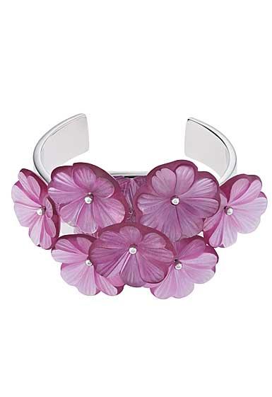 Lalique Pensee Cuff, Fuchsia
