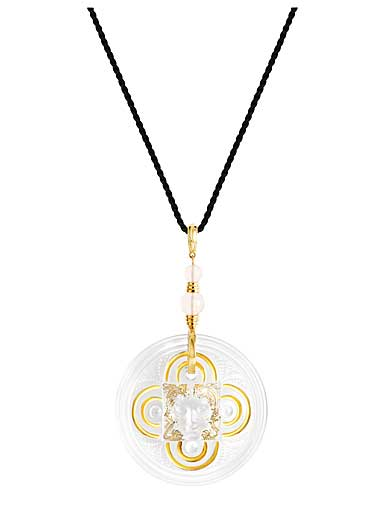 Lalique Arethuse Medaille Arethuse, Gold Vermeil