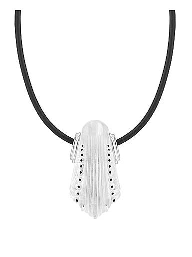 Lalique Crystal Icone Pendant Necklace, Clear