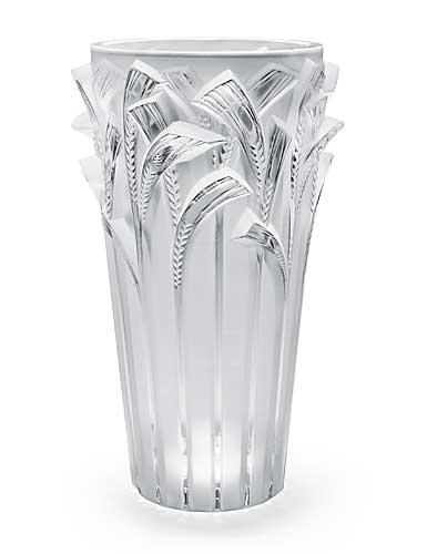 Lalique Epis Vase, Clear