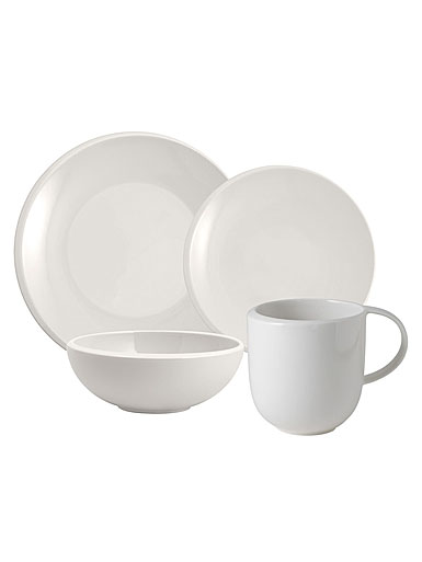 Villeroy and Boch NewMoon 4 Piece Place Setting
