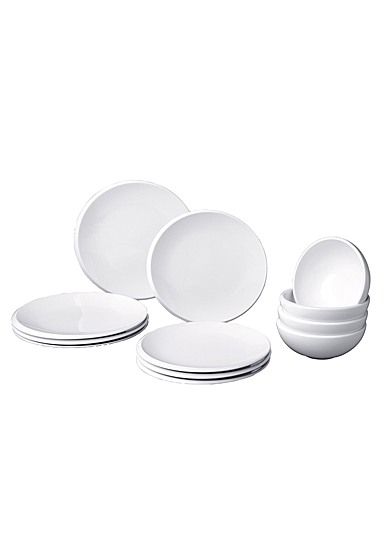 Villeroy and Boch NewMoon 12 Piece Set of 4