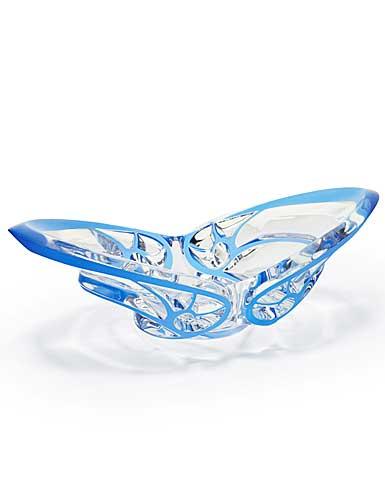 Lalique Tourbillons Bowl, Blue Limited Edition