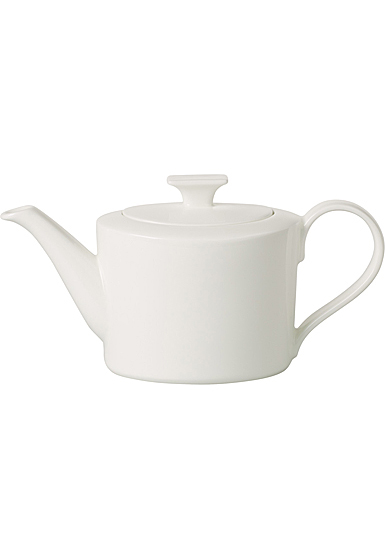Villeroy and Boch MetroChic Blanc Small Teapot