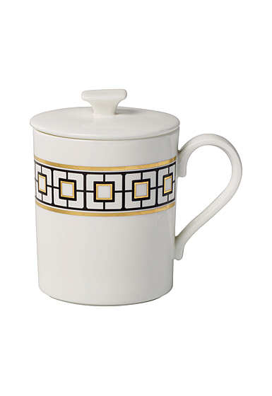 Villeroy and Boch MetroChic Mug with Lid