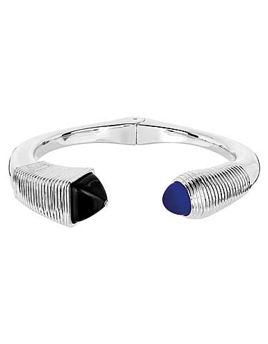 Lalique Crystal Charmante Bracelet, Noir and Blue