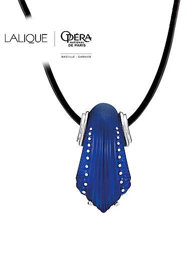 Lalique Icone Pendant, Bleu