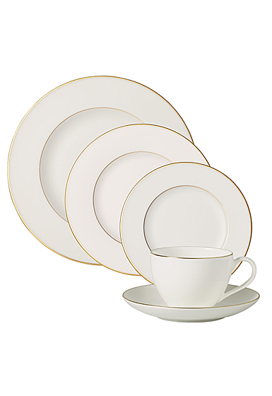 Villeroy and Boch Anmut Gold 5 Piece Place Setting