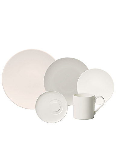 Villeroy and Boch MetroChic Blanc 5 Piece Place Setting