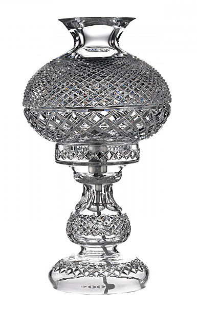 """Waterford Crystal, 19"""" Inishmore Crystal Lamp"""